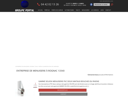 Entreprise de menuiserie à Rognac 13340 -...