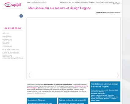 Menuiserie alu sur mesure et design Rognac -...