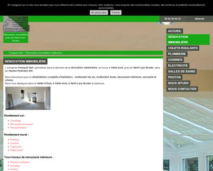 Rénovation immobilière - Fresquet Sarl à Vielle...