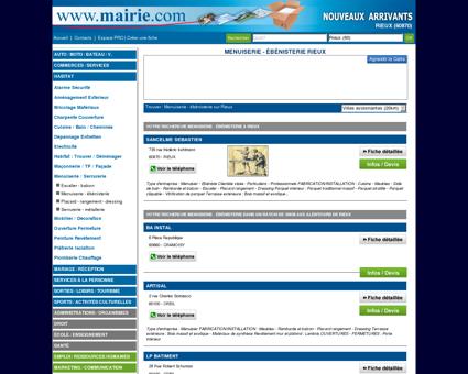 Menuiserie - ébénisterie Rieux : Mairie.com