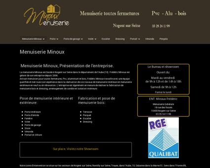Menuiserie Minoux - menuiserie - alu - bois -...