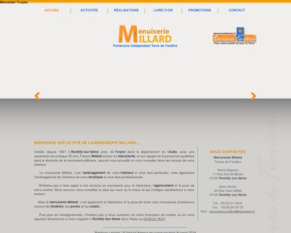 Menuisier Troyes, Menuiserie Millard, Escaliers,...