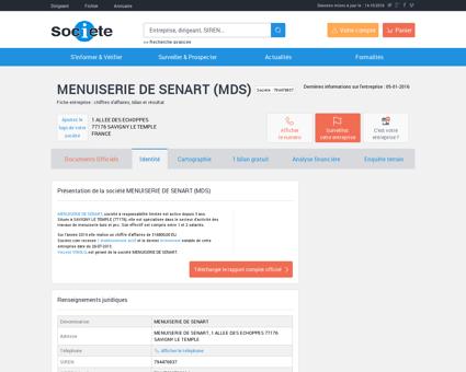 MENUISERIE DE SENART (SAVIGNY LE...