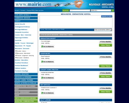 Menuiserie - ébénisterie Verfeil : Mairie.com