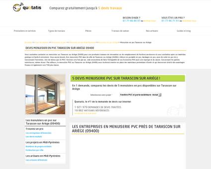 Travaux de menuiserie PVC Tarascon sur...