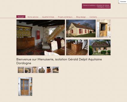 Menuiserie Gérald Delpit Montignac Dordogne