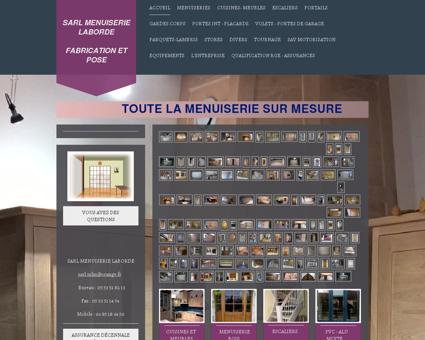 Sarl Menuiserie Laborde-Menuisier Fabricant -...