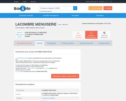 LACOMBRE MENUISERIE (NEUVY...