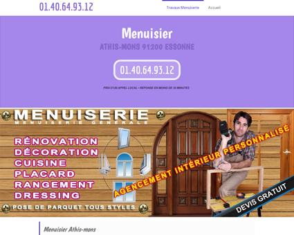 Menuisier Athis-mons 91200 Essonne -...