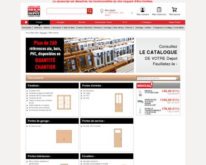 Menuiserie / Magasin de Bricolage Brico...