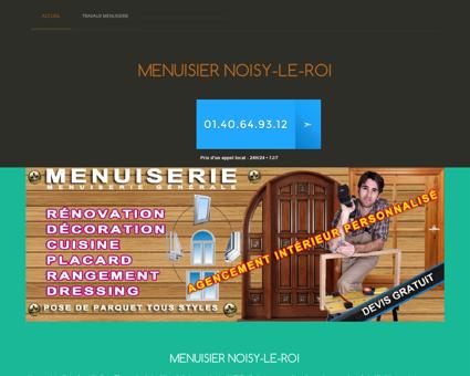 Atelier Menuisier Noisy-le-roi, Yvelines 24H/24...