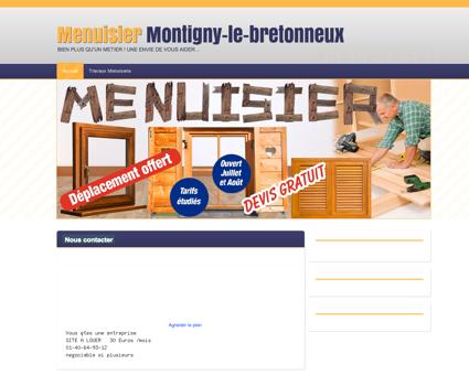 Menuiserie & Menuisier Montigny-le...