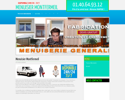 Menuiserie & Menuisier Montfermeil, Seine...