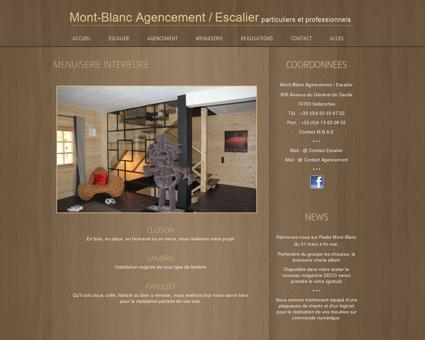 MENUISERIE INTERIEURE | MONT-BLANC...