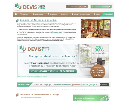 Fenêtres bois Ariège : menuisier spécialiste...