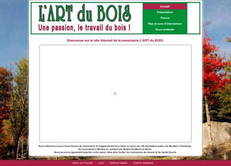 L'Art du Bois Menuiserie Moutiers...