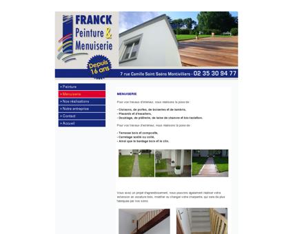 Franck menuiserie terrasse charpente ossature...