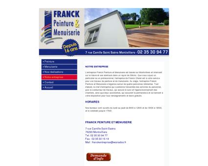 Franck Peinture Menuiserie terrasse charpente...