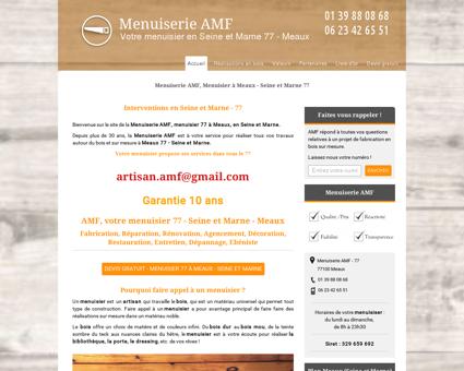 AMF - Menuisier Meaux (Seine et Marne 77) -...