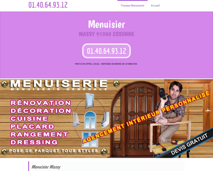 Atelier Menuisier Massy | fiable et au tarif attractif