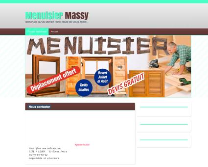 Artisan Menuisier 91300 Massy | joignable...