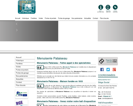 Menuiserie Palaiseau - MENUISERIE ROY