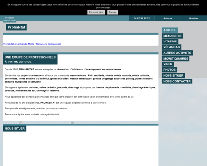 Menuiserie à La Grande-Motte (34) - Prohabitat