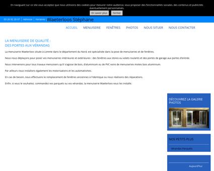 Menuiserie (entreprises) - Waeterloos...