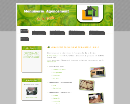 Menuiserie Lille : Menuiserie bois et...