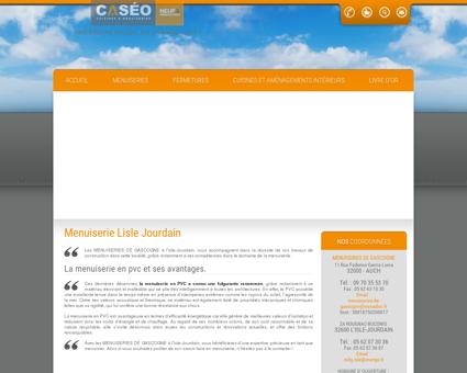 Menuiserie Lisle Jourdain-MENUISERIES DE...
