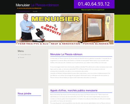 Artisan Menuisier Le Plessis-robinson Appelez...