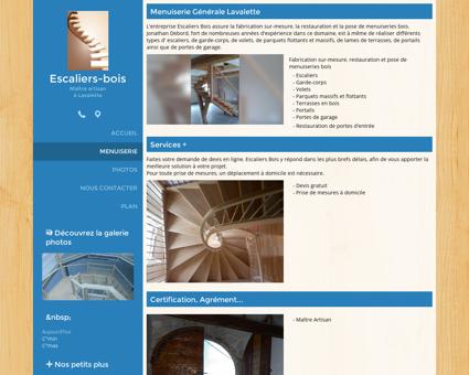 Menuiserie - Escaliers-bois - Escalier Bois à...