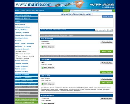 Menuiserie - ébénisterie Lombez : Mairie.com