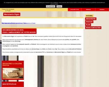 Menuisier - Menuiserie Nigon au Pradet (83)
