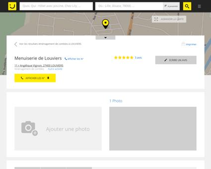 MENUISERIE DE LOUVIERS Louviers (adresse)