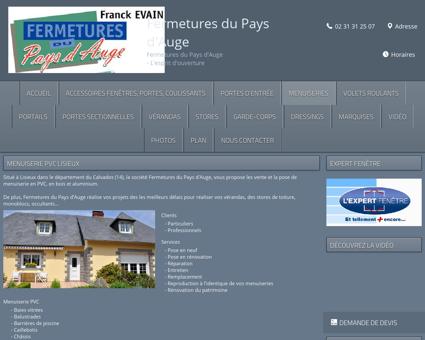 Menuiserie PVC Lisieux - Fermetures du Pays...
