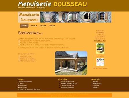 Menuiserie DOUSSEAU - Bois, Alu, PVC,...