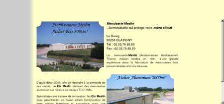 Menuiserie Meslin