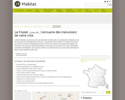 L'annuaire des menuisiers, ébénistes à Le...