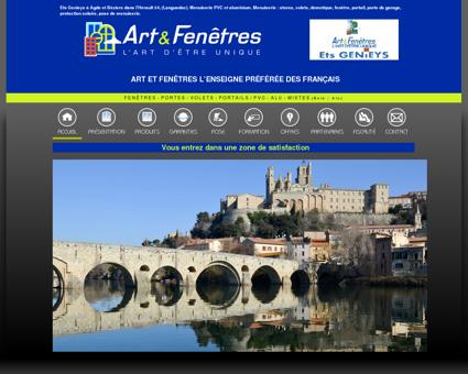 Menuiserie alu et PVC à Agde, Béziers, Hérault...