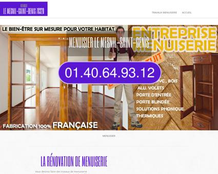 Atelier Menuisier Le Mesnil-saint-denis |...