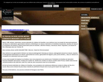 Menuiserie (entreprises) - Rossignol Jean...