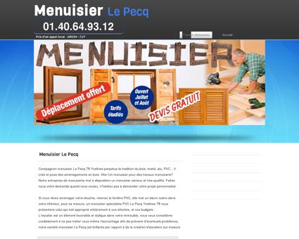 Artisan Menuisier Le Pecq, Yvelines à votre...