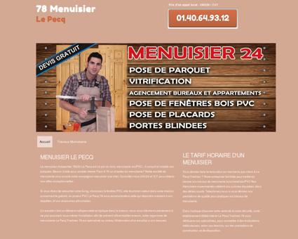 Société Menuisier 78230 Le Pecq - Yvelines 78