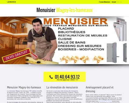 Menuiserie & Menuisier Magny-les-hameaux...