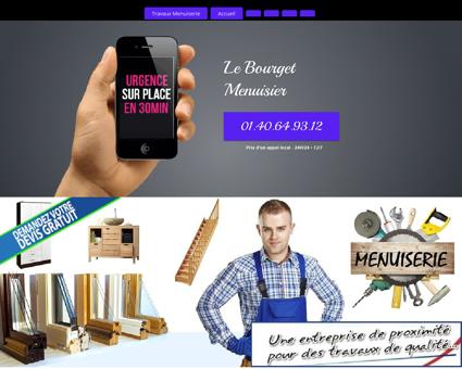 Atelier Menuisier Le Bourget - 24H/24 et 7J/7