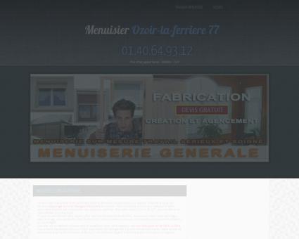 Menuiserie & Menuisier 77330 Ozoir-la...