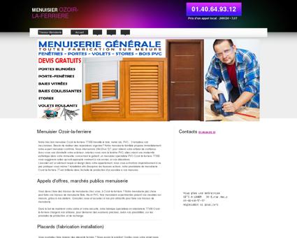 Entreprise Menuisier 77330 Ozoir-la-ferriere -...