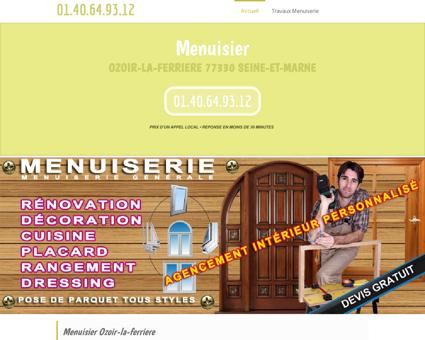 Société Menuisier Ozoir-la-ferriere Offres...