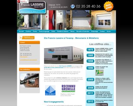 Entreprise Francis Lassire, Menuiserie et...